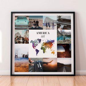 foto di: Poster di viaggio personalizzabile